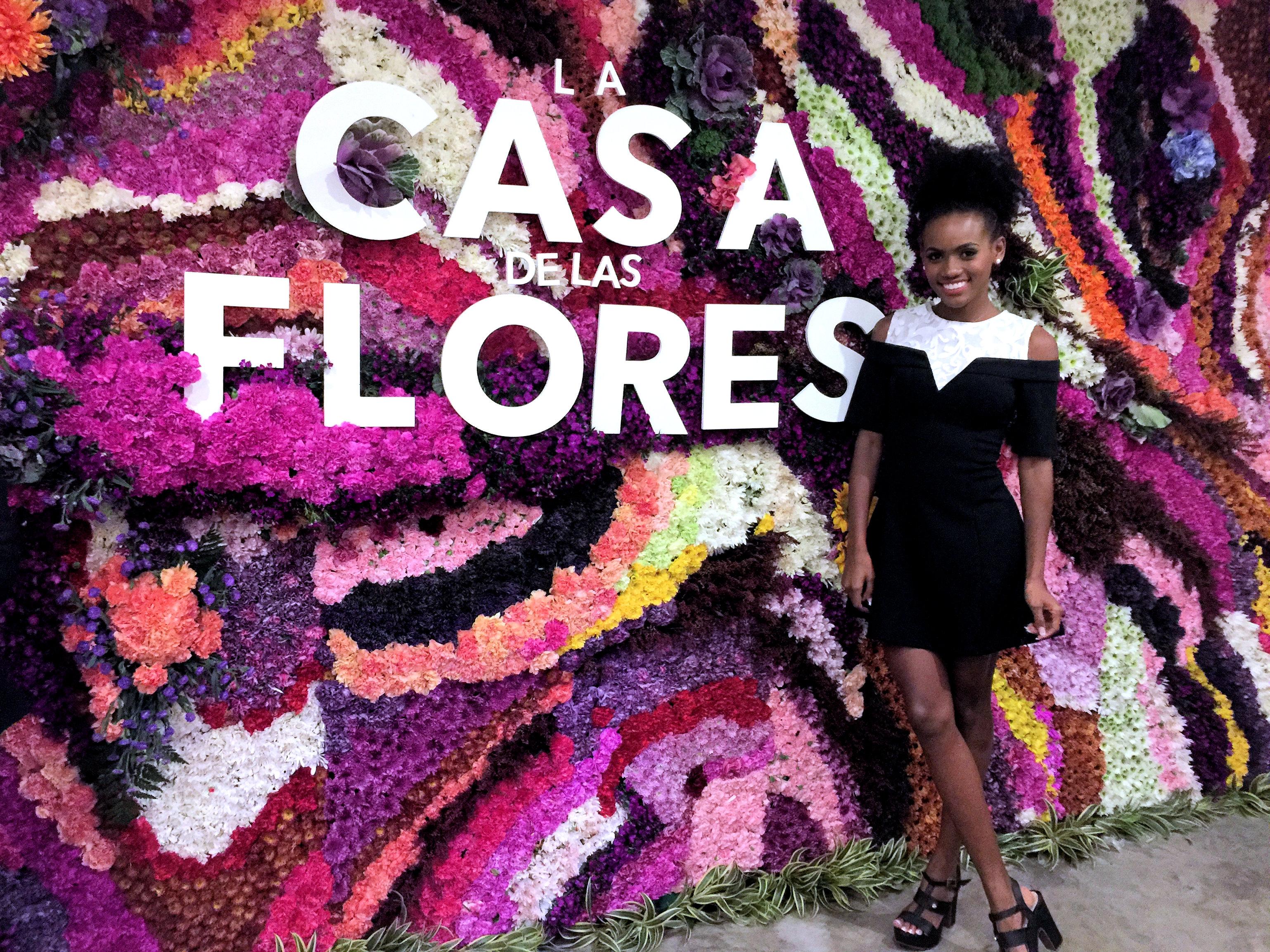 LA CASA DE LAS FLORES ANGELY GAVIRIA