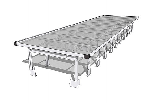 AWG Inc Aluminum Rolling Top Professional Bench Systems