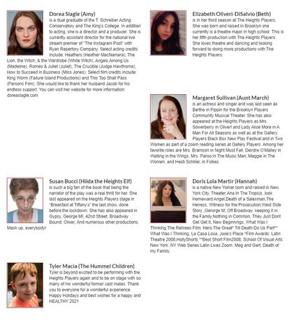 Cast of Little Women