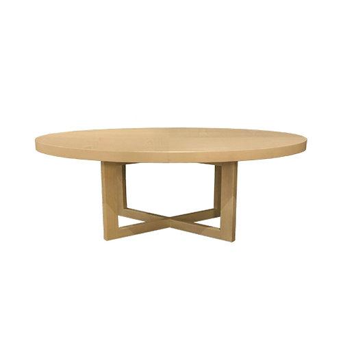 BYCROSS OVAL COFFEE TABLE