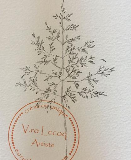 Carte botanique by V.ro