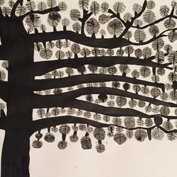 Tree at dawn.