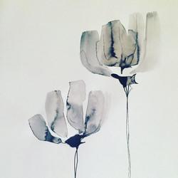 Sumi flower.