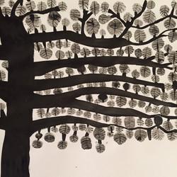 Tree at down