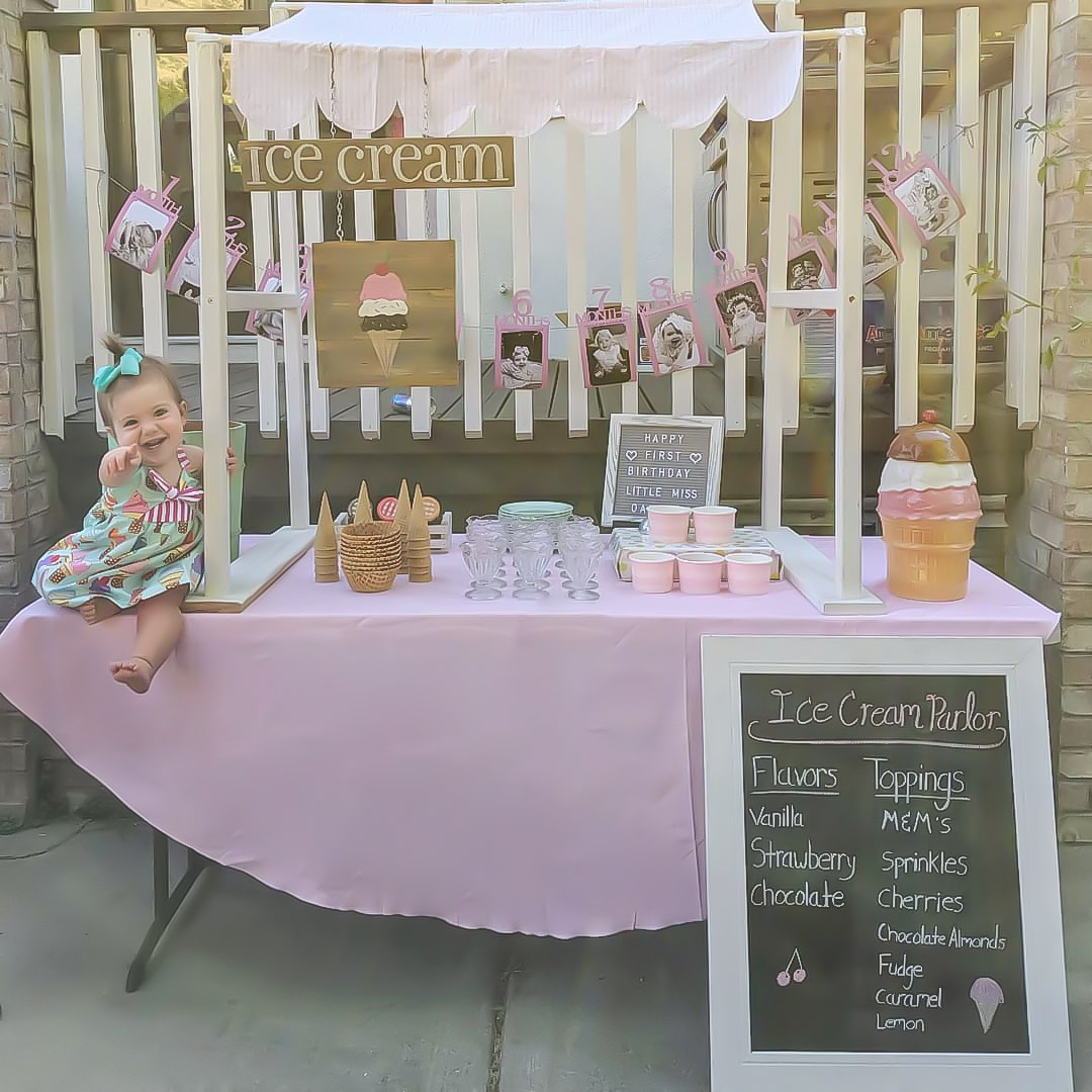 Girls' First Birthday Party Ideas