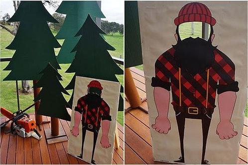 Lumberjack Backdrop