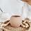 Thumbnail: Round Matte Vase | Terra Cotta Textured Vase | Boho Home Decor