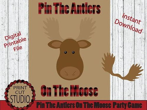 Pin The Antlers On The Moose