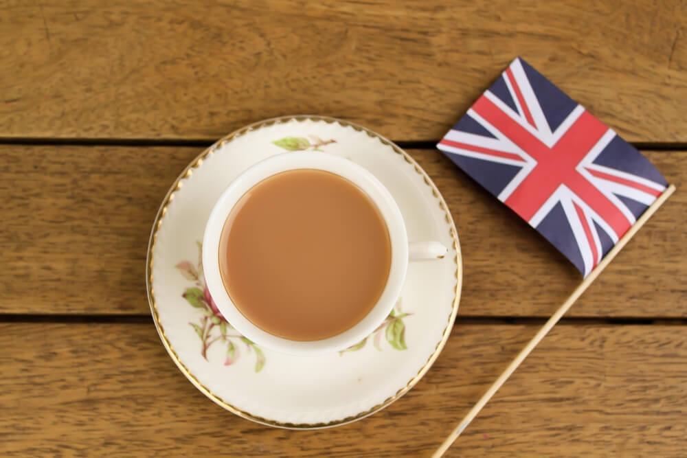 A cup of British tea