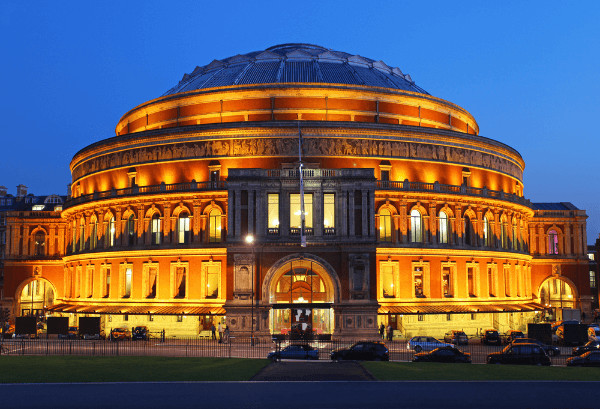 School trip to the Royal Albert Hall