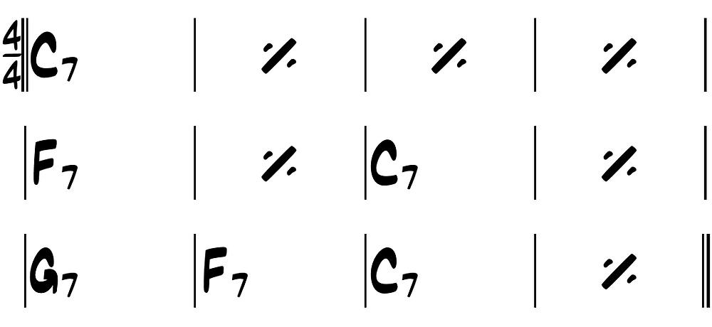 Simple Blues Structure