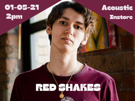 Red Shakes Acoustic Instore - 01/05/21