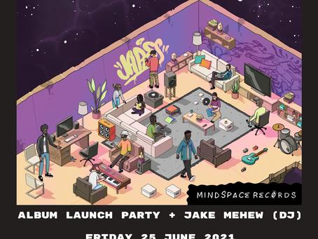 Space Dolphin Album Launch Party + Jake Mehew (DJ) - 25/06/21
