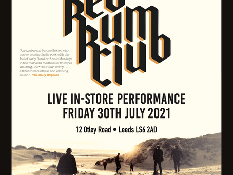Red Rum Club: The Hollow Sessions Album Launch - 30/07/21