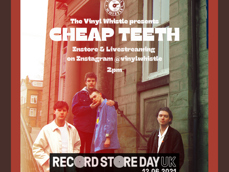 Cheap Teeth Acoustic Instore - 12/06/21