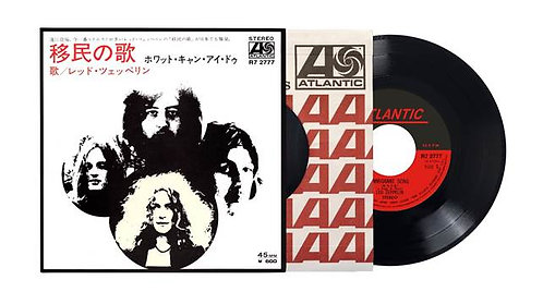 Led Zeppelin - Immigrant Song / Hey Hey What Can I Do