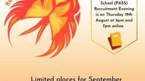 Phoenix Recruitment Evening 2021/2022!