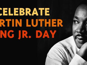 Dr. Martin Luther King Jr. Day, 18 January 2021 - A National Holiday in the USA