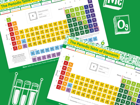 Free online periodic table interactive resources