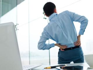 Tenha uma boa postura e diminua a dor nas costas