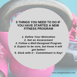 5 things to do when you begin an exercise program