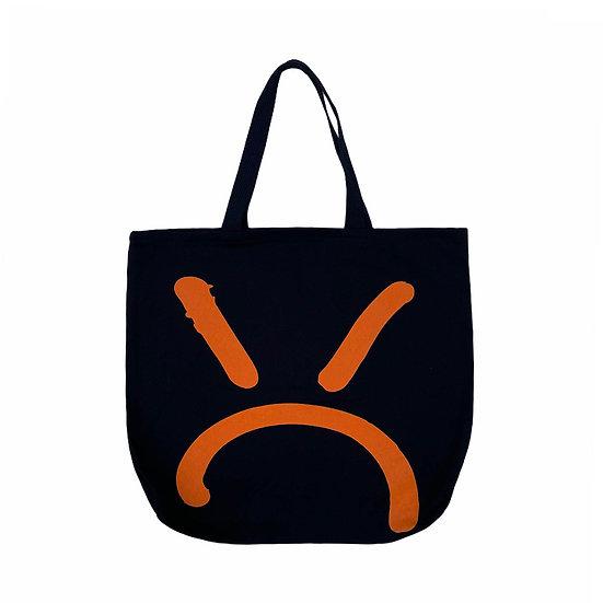 """Orange Rossi x MQ """"MEANFACE"""" Tote Bag"""