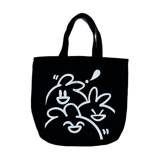"""Rossi x Tod the Bunny """"Tod Squad"""" Tote Bag"""