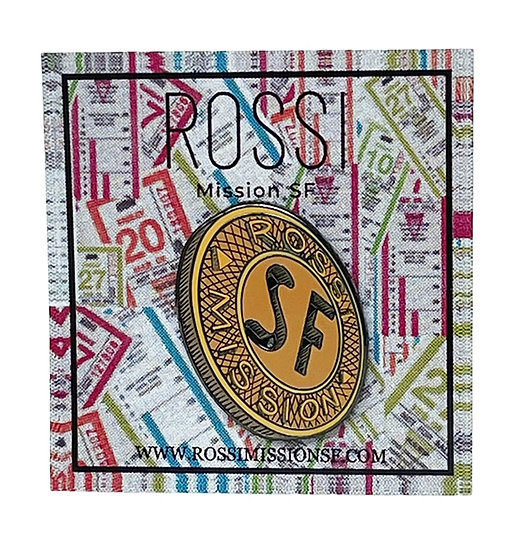 """Rossi """"SF"""" Coin Pin"""