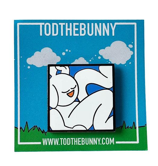 "Tod the Bunny ""Framed"" Pin"