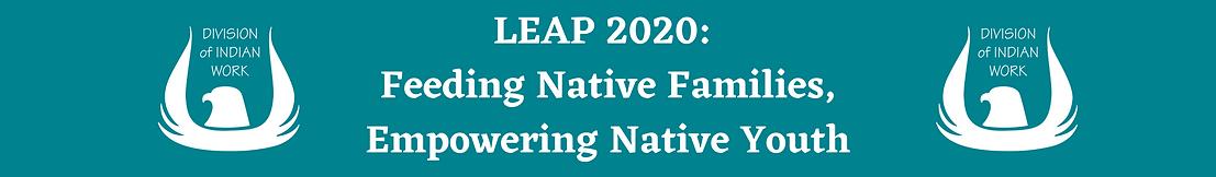LEAP 2020_ Feeding Native Families, Empo
