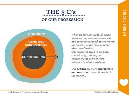CONSCIOUSNESS - The 3 C's Idea