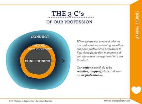 CONDITIONING - The 3 C's Idea