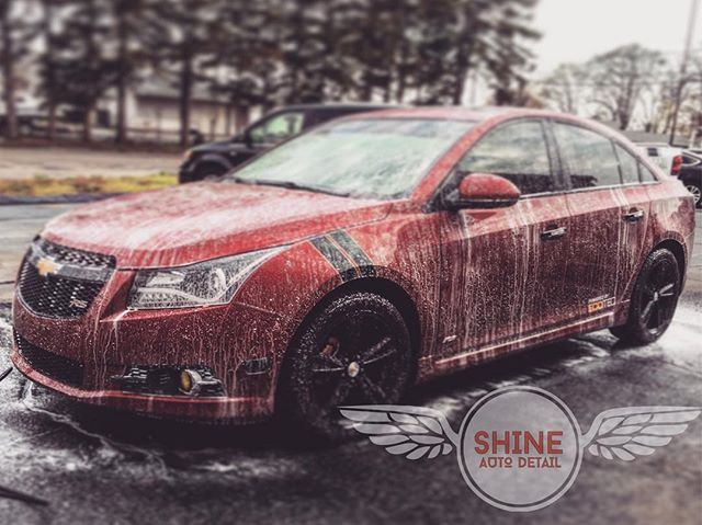 Foam Bath with Shine Soap #shineautodetail #findyourshine #shinesupply