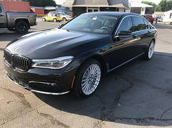 2017 BMW 750il in for our 2 year Gyeon Ceramic Coating  including Gyeon Rim on the wheels! #gyeon #s