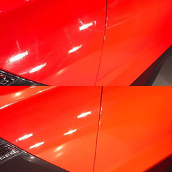 Some working shots of the Z06  Knockin our defects with _shinesupply compounds! #findyourshine #team