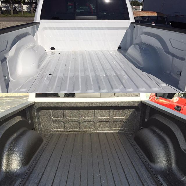 2016 Dodge Ram in for _scorpioncoatings  spray in bed liner! Installed right here at Shine Auto Deta