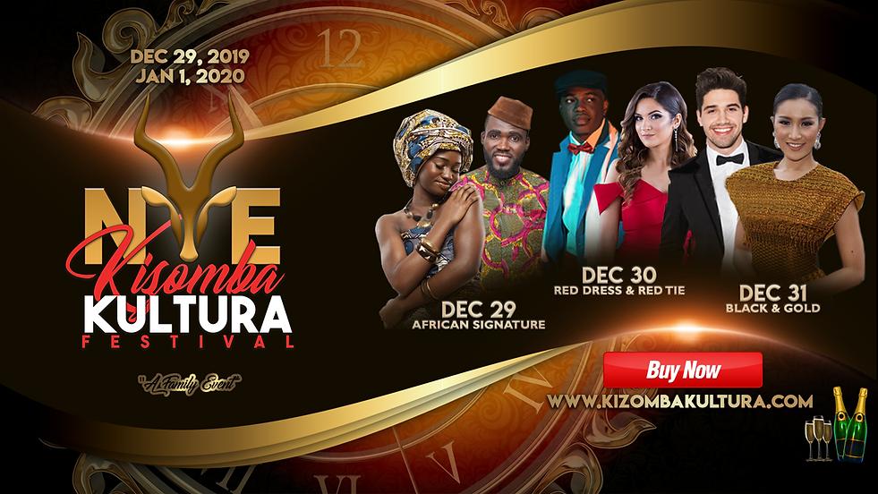 NYE Kizomba Kultura Festival Theme Parti