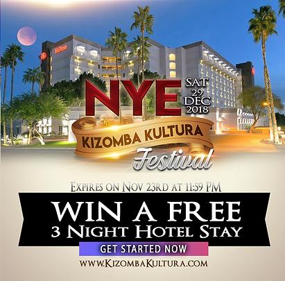 NYE Kizomba Kultura Festival Hotel Givea