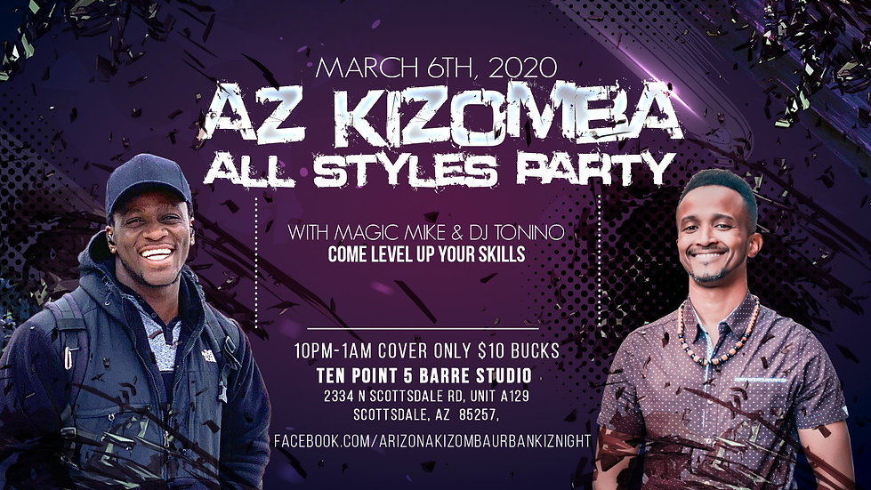 AZ Kizomba All Style Party - Kizomba Pho