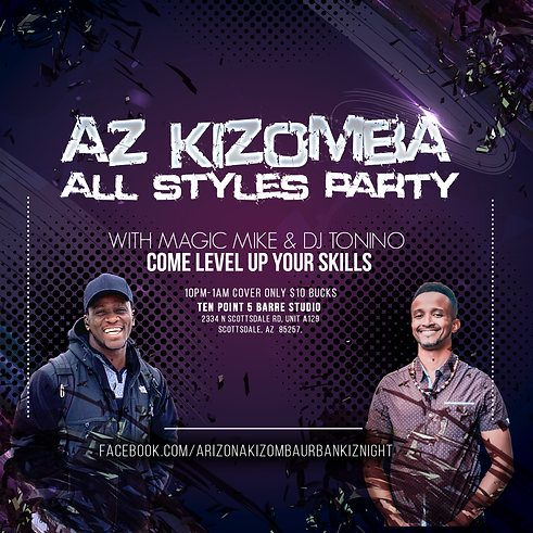 Arizona Kizomba All Style Monthly Social