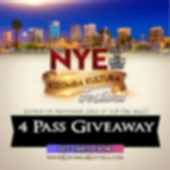NYE Kizomba Kultura Festival 4 Pass Give