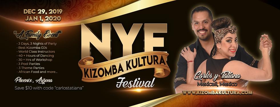 NYE Kizomba Kultura Festival Carlos y Ta