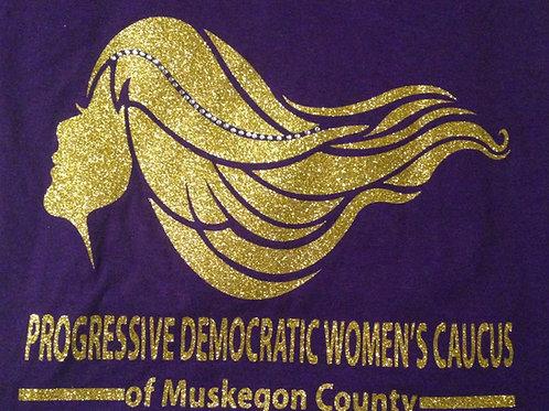 PDWC T-shirt in Purple