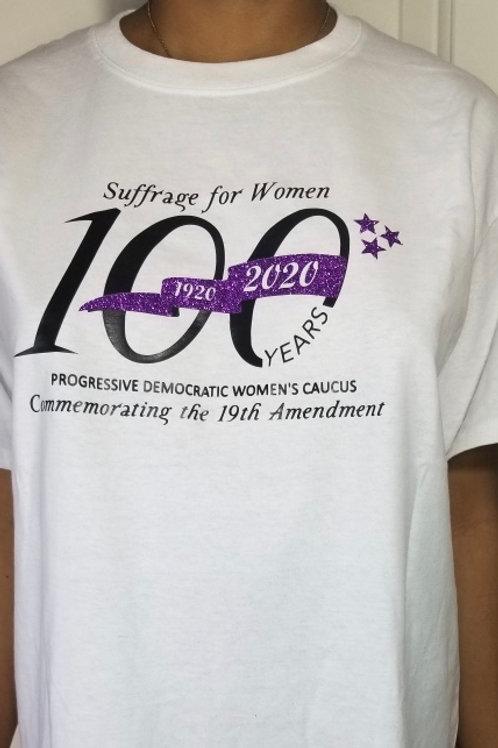Crew neck 100  years  T-Shirt