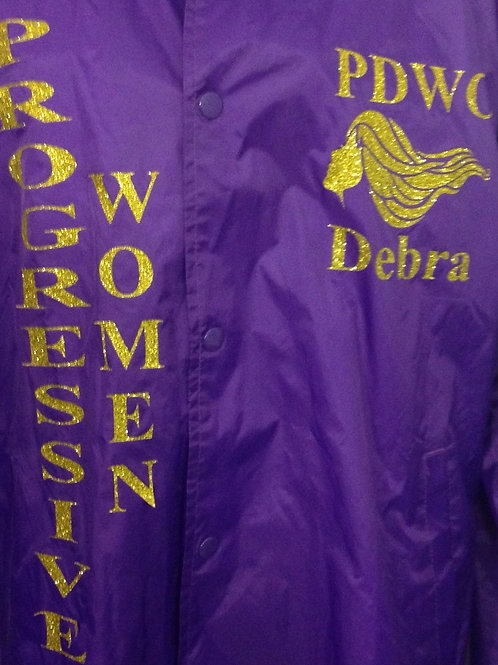 PDWC Long Sleeve Jacket in Purple