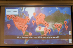Sisters marched