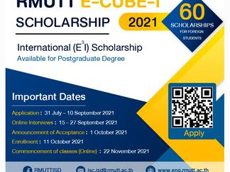 RMUTT E-CUBE-I (E3I ) Scholarships