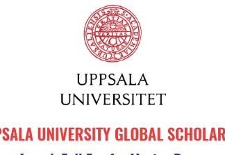 Uppsala University Global Scholarships, 2020
