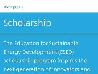 Global Sustainable Electricity Partnership Scholarship in Canada, 2020