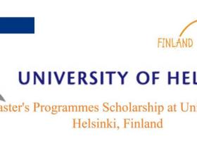 University of Helsinki Masters Scholarships
